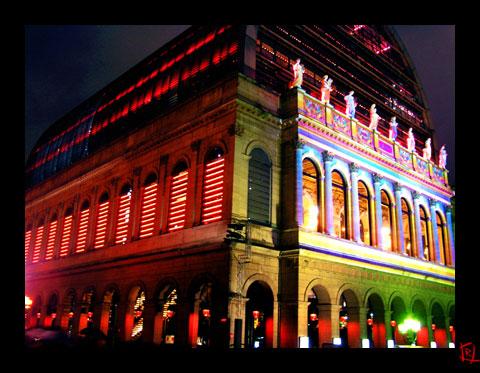 Opéra de Lyon pour la fête des lumières