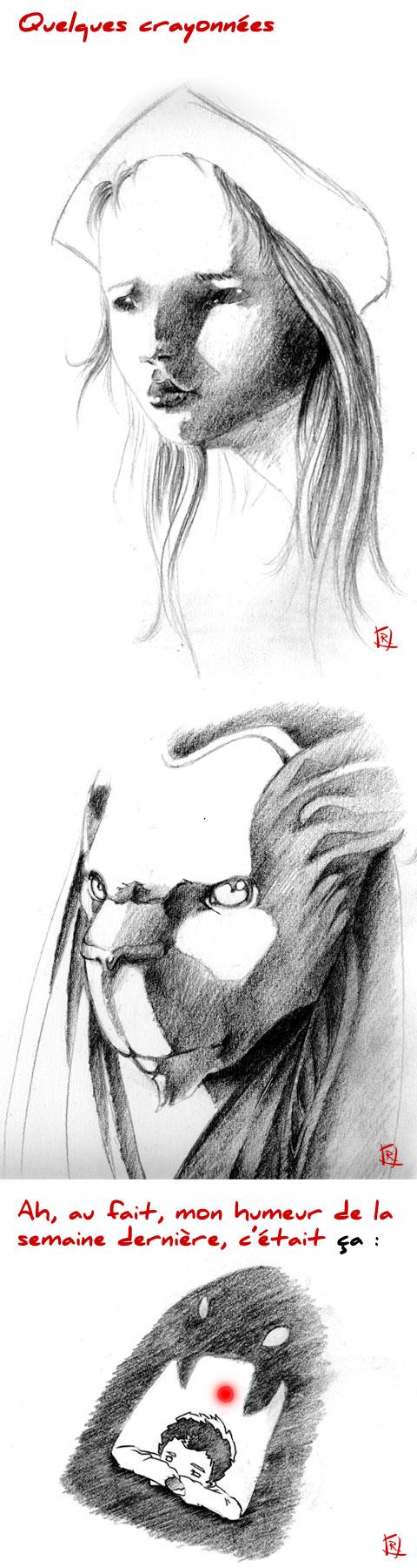 crayonnés by Quentin Rougegoreg